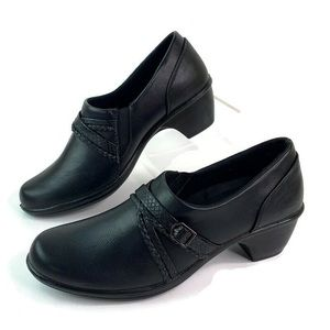 Easy Street Comfort Wave Black Ankle Bootie Shoes